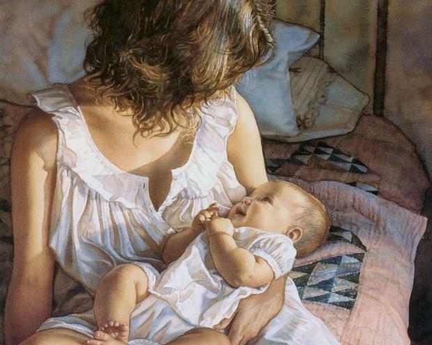 досить гарна мама